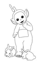 free printable teletubbies coloring pages teletubbies