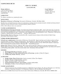 resume objective template nursing resume objective sle 8 exles in word pdf