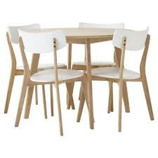 Tesco Armchairs Buy Charlie Round Dining Table And 4 Chair Set Oak Effect And