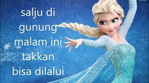 film frozen dari awal sai akhir disney frozen let it go in bahasa indonesia cover youtube