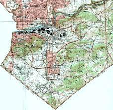 University Of Pennsylvania Map by Northampton County Pennsylvania Township Maps