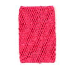 crochet headband tutu hot pink crochet tutu top