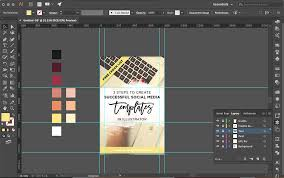 3 steps to create successful social media templates in illustrator