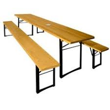 german beer garden table and bench german beer garden table w 2 benches all by unearthedgallery