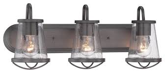 designers fountain darby bathroom lighting fixture industrial