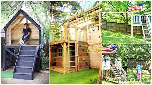homely ideas 8 fun playhouse designs 7 diy outdoor play equipment