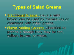 salads and salad dressing