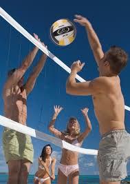 backyard volleyball net nktm indoor outdoor sports badminton net