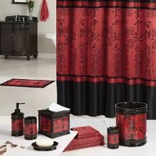 Black Bathroom Curtains Royal Bathroom Shower Curtains Black Asian