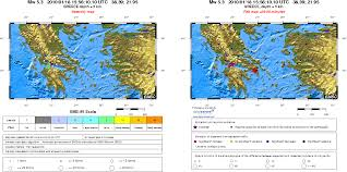 Corinth Greece Map by Seismic Activity In Corinth Gulf Greece In January 2010
