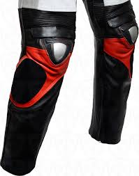 motorcycle trousers rtx assassin red black motorcycle leather 2pc suit
