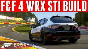 subaru hatchback custom rally forza 5 custom cars 28 f u0026f subaru wrx sti free add on soon