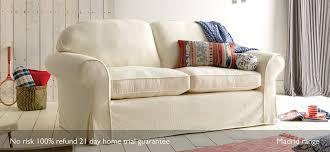 Uk Sofas Direct Madrid Loose Cover 2 Seater Sofa 17 Colours Sofasofa