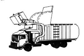 garbage truck coloring pages kids download u0026 print