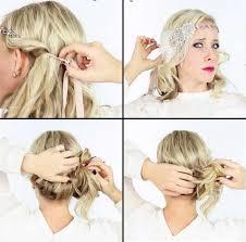Frisuren Selber Machen Haarband by 20er Frisuren Selber Machen Mottoparty Lange Haare Haarband