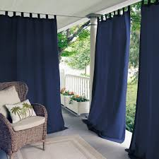 Outdoor Gazebo With Curtains by Tab Top Curtains U0026 Drapes Window Treatments The Home Depot