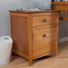 Small Filing Cabinet Simple Oak Wooden Small File Cabinet Side Table 2 Drawers Picture