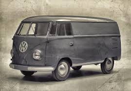 volkswagen bus drawing bulli production of cult volkswagen vehicle began 65 years ago