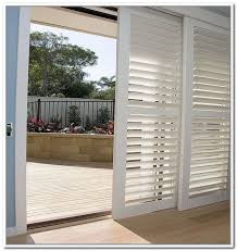 Plantation Shutters On Sliding Patio Doors Sliding Door Shutters Wide Home Ideas Collection Decorate