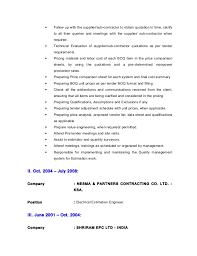Power Plant Electrical Engineer Resume Sample by Cv Electrical Estimation Engineer
