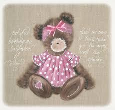 tableau pour chambre bébé fille pour l ours tableaux pour enfants et adultes en brut peints
