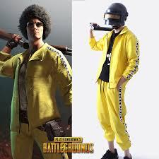 pubg yellow tracksuit yellow tracksuit cosplayhero
