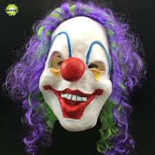 halloween mask scary clown mask joker men u0027s full face party day