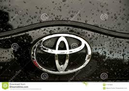 toyota car logo toyota logo editorial stock photo image 17187658