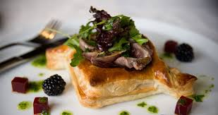 cuisine pigeon twisted corner seared wood pigeon pastry recipes jus rol