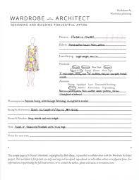 wardrobe architect week 13 downloadable planning worksheet