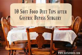 10 soft food diet tips after bariatric surgery the inspiration edit