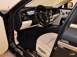 Roll Royce Ghost Interior Creme Light Black Interior 2011 Rolls Royce Ghost Standard Ghost