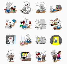 friends emoji the secret language of line stickers techcrunch