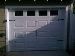 standard garage door sizes double dors and windows decoration