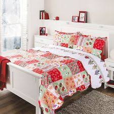 Quilted Coverlets And Shams Holiday Quilts Bedspreads And Coverlets Ebay