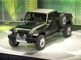 new jeep wrangler concept jeep wrangler pickup is greenlighted and it will bring some aluminum