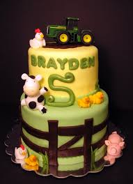 tractor cake too cute miranda you have to do this theme one