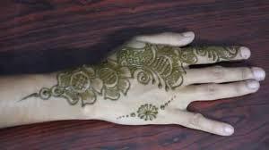 easy mehandi design for back stylish henna design diy