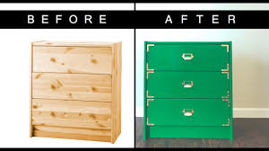 ikea hack campaign dresser diy youtube