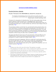Best Resume Of All Time by Best Executive Summary Examples Template