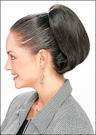 clip on ponytail look of int l bfm 235 butterfly clip on ponytail