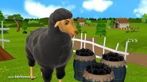 baa baa black sheep 3d animation english nursery rhyme for