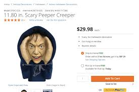 Beer Keg Halloween Costume Depot Pulls Super Creepy Voyeuristic Halloween Decoration