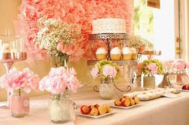 bridal shower table decorations inspirational wedding shower table decorations icets info