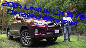 most expensive lexus suv 2015 2015 lexus lx 570 detailed review and road test youtube
