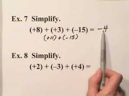 integers and absolute value by math made simple youtube