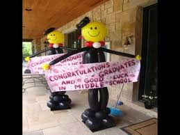 balloon decoration ideas for graduation youtube