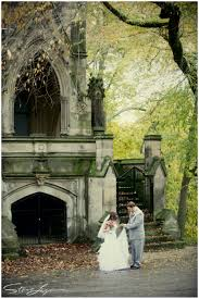 Wedding Photography Cincinnati Autumn First Look Outdoor At Spring Grove Cemetery And Arboretum