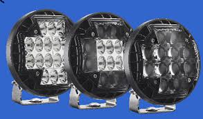 rigid industries led driving lights r2 46 the new beginning in round led technology snake racing