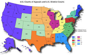 federal circuit court map the federal court system government
